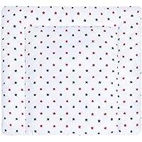 Passend u.a LULANDO Wickelauflage 75x75 cm Oberstoff 100/% Baumwolle in tollen Designs f/ür die Kommode IKEA MalmFarbe:Airplanes Dots