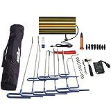 Mookis Werkzeuge Paintless Body Repair, Body Kit 32PCS Ohne Farbe, Ausbeulen und Hagel Reparatur, Luft-Keil, LED-Reflektorboard