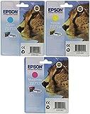 Epson T071 Original Inkjet Cartridges Bundle Pack - Cyan/ Magenta/ Yellow
