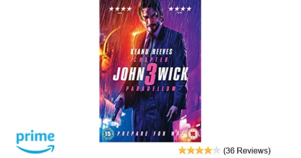John Wick: Chapter 3 - Parabellum [DVD] [2019]: Amazon co uk