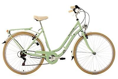 KS Cycling Damen Fahrrad Cityrad Casino 6 Gänge, Grün, 28 Zoll, 700C