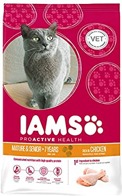 Iams Cat Food ProActive Health Mature & Senior Roast Chicken from Iams