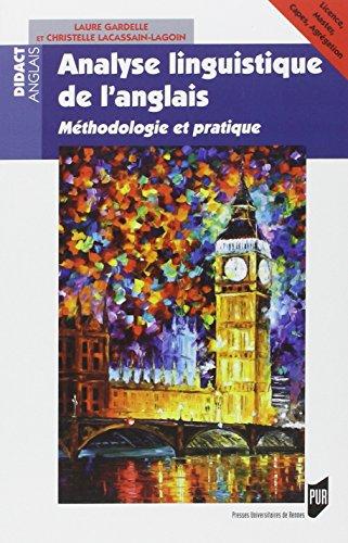Analyselinguistiquedel'anglais : Méthodologieetpratique