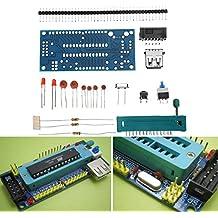 Rishil World DIY ATMEGA8 Minimum System Board ATmega48 ATMEGA88 Minimum System Board AVR Kit