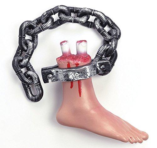Bloody Foot On Chain, Halloween Fancy Dress, Accessory