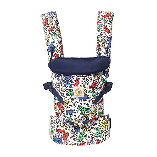 Ergobaby Adapt Special Edition Keith Haring - Mochila portabebés, color pop