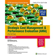 Strategic Cost Management and Performance Evaluation (AMA) (Old and New Syllabus)