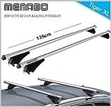 Barres de toit FIAT 500x partir de 2015avec railing (Rampe) intégrés