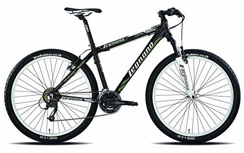 Legnano Ciclo 630 Cortina, Mountain Bike Uomo, Nero, 38