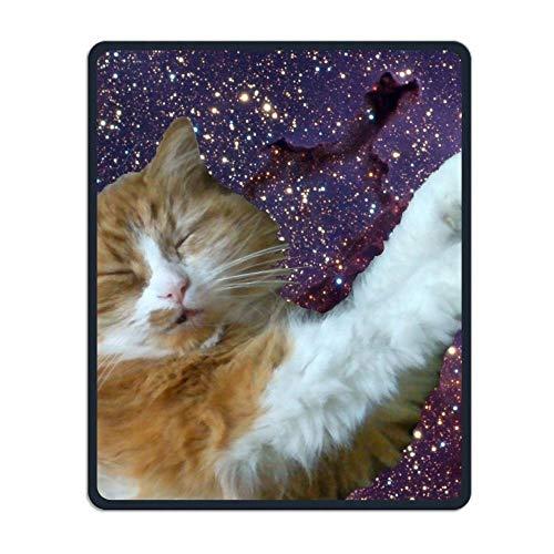 Yanteng Precisione cucita e resistente Cat Galaxy Personalizzata Mouse pad unico Impermeabile Studio gaming gaming tappetini per mouse Tappetino mouse in gomma antiscivolo