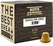 Note d'Espresso Qualità Oro Coffee Capsules exclusively Nespresso* machine Compatible 5.6g x 100 Capsules