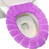 TS-nslixuan Universal Zipper angebracht WC-Sitz für WC-Becken und WC-Schüssel, Lila Farbe