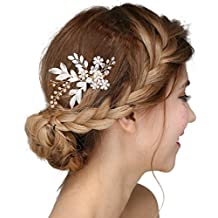 capelli Damen Kristall strass epoca perline pettini fascia per capelli  pettine da sposa di cristallo clip strass capelli accessori per capelli  perla da ... 78825f5bfed9