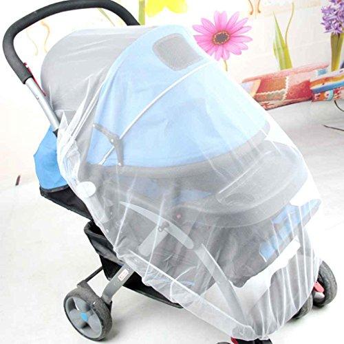 GOOD QUALITY 4 U GOO QUALIT Moskito-Netz-Spaziergänger-Säuglings-Baby-sichere Ineinander greifen-weiße - Reisebett Mesh Cover
