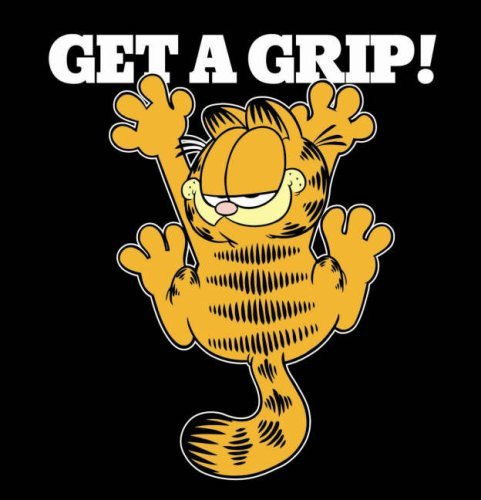 Get a Grip (Garfield Gift Books) by Jim Davis (3-Sep-2007) Hardcover