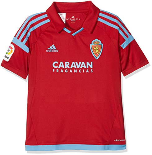 Rz a Jsy y Camiseta de Equipación-Real Zaragoza, Niños, Amarillo (Am