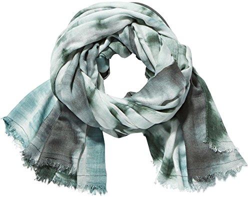 PIECES Damen Schals Pcnille Long, Gebatikt, Gr. One size, Mehrfarbig (Whitecap Gray)