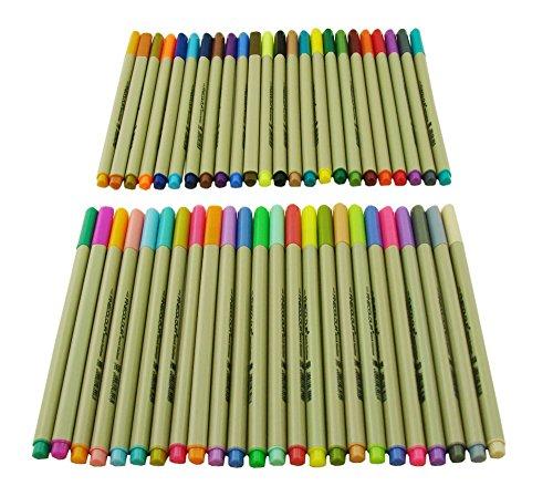 Erofa 48 pz 0,3 MM Multi colori Gel inchiostro penna schizzo disegno colorate Fineliner penna penne / Fine marcatori punto penna
