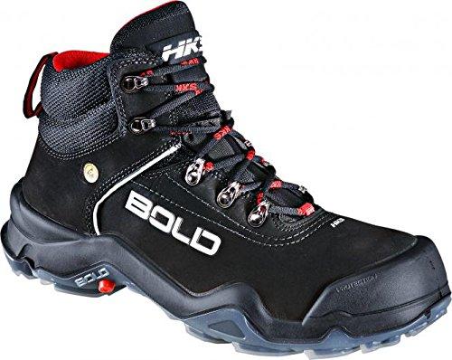 HKS , Chaussures de sécurité pour homme noir Schwarz 43 Schwarz