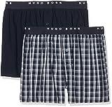 BOSS Men's Woven Ew 2p Boxer Shorts, Multicoloured (Open Miscellaneous 976), Medium pack of 2