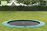 Bodentrampolin Supreme Ground grün - 3
