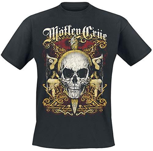 Mötley Crüe Girls Skull T-Shirt schwarz XL -