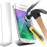 ONX3® Samsung Galaxy A5 Case Custom Made Protectores de pantalla de cristal templado Crystal Clear LCD de paquetes con paño de pulido y Tarjeta de aplicación ( 1 Pack )