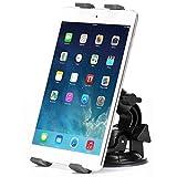 Heavy Duty Car Mount Dash Windshield Tablet Holder Stand for Samsung Galaxy Tab E Nook 9.6 - Galaxy Tab S2 Nook 8.0 - Galaxy Tab 4 Nook 7.0 - Galaxy Tab 4 Nook 10.1
