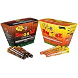 Smokiiz Pre Rolled Cones Combo Pack Of Brown & White (Total 56 White & 56 Brown)