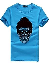 Pollover Camiseta Niños Tees Camiseta Térmica de Compresión Hombres Que Imprimen Las Camisetas Camisa Manga Corta…