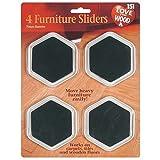 8 Furniture Sliders ,2 Packs of 4 Free Fridge Magnet - love your wood - amazon.co.uk