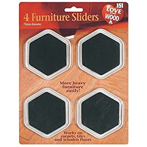 8 Furniture Sliders 2 Packs Of 4 Free Fridge Magnet Kitchen Home