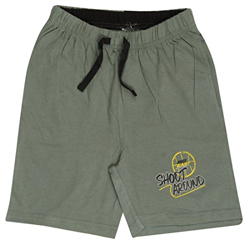 MIDAAS Boy's Cotton Shorts (Grey) - Combo Pack of 3