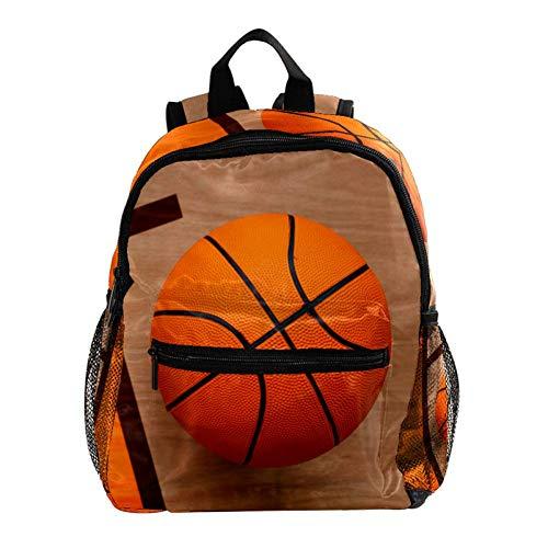 Basketball Rucksack 3-8 Jahre Kids Lightweight Toddler Daypack für Vorschule Kindergarten und Reise Baby Wickeltasche 25.4x10x30CM