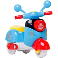 Generic Kids Toddlers Baby Boys Girls Adults Seat Model Toys Steering Wheel Car Toy Track, Mini Motorcycle Toy Pull Back…