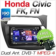Honda Civic Hatchback Reproductor de Radio Estéreo para Coche, DVD, GPS, TV,