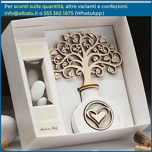 Bomboniere profumatore albero della vita ginevra (scatola bomboniera inclusa)