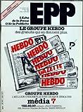 Telecharger Livres ECHO DE LA PRESSE ET DE LA PUBLICITE L No 1358 du 23 04 1984 SOMMAIRE PRESSE COLETTE ECHOS PRESSE UNANIMITE AU SENAT CONTRE LES POUVOIRS EXCESSIFS ATTRIBUES A LA FUTURE COMMISSION DE CONTROLE PAPIERS DE PRESSE NOUVELLES AUGMENTATIONS L EXPRESS LANCE L EXPRESS PARIS LE POINT DES AFFAIRES EN COURS LA PROMOTION DES EDITEURS CREATION DU PREMIER SALON DE LA PRESSE PERLIN LANCEMENT PROCHAIN D UN SUPPLEMENT MENSUEL DESTINE AUX PARENTS PROPOS DU LUNDI A TRAVERS LES REDACT (PDF,EPUB,MOBI) gratuits en Francaise