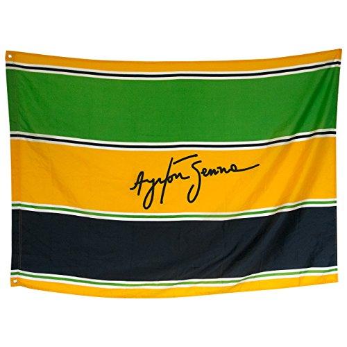 Ayrton Senna Fahne Sempre Test