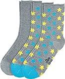 S. Oliver Socken 3er-Pack Baumwolle grau/grau-gelb-blau Größe 39-42
