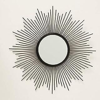 Home Collection Maison Ameublement Décoration Miroir à Muraux en Forme de Soleil