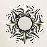 Home Collection Arredamento Decorazione Casa Specchio da Appendere alla Parete a Forma di Sole