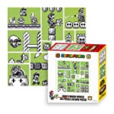 Ensky Nintendo Super Mario Brothers 30th Anniversary Green Mario World Jigsaw Puzzle (144 Piece)