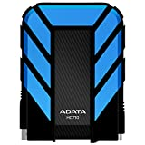ADATA HD710 1TB USB 3.0 High Speed IP68 Military Grade Waterproof Dustproof Shockproof Ruggedized External Hard Drive, Blue (AHD710-1TU3-CBL)