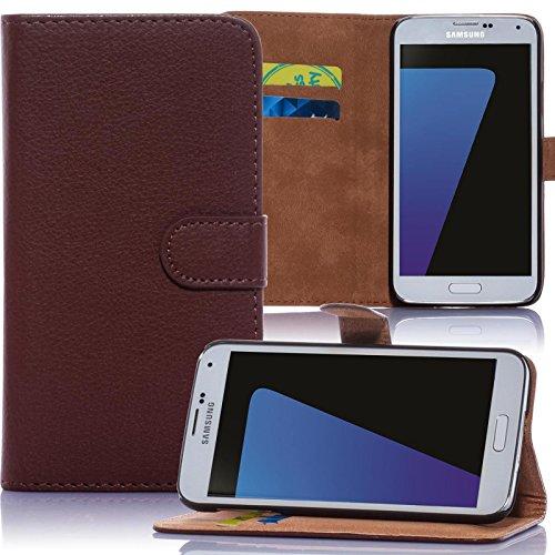 Numerva Huawei Ascend Y530 Hülle, Schutzhülle [Bookstyle Handytasche Standfunktion, Kartenfach] PU Leder Tasche für Huawei Ascend Y530 Wallet Case [Braun]