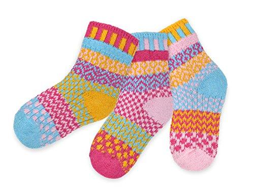 Chaussettes Solmate - Mesappartement Chaussettes Enfants. Un Paira avec un supplement. Fabrique avec du fil de coton recycle aux Etats-Unis. Calin Insecte Grand