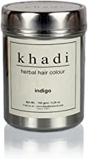 Khadi Natural herbal hair colour - Indigo - 150gm