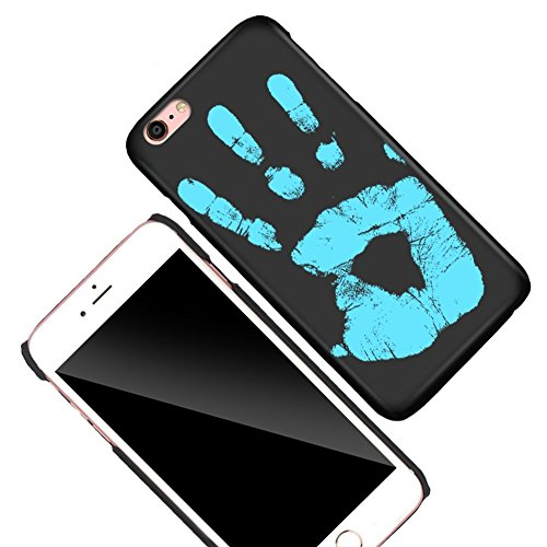 KOSBON Thermal Sensor Telefon Fall Hitze Induktion Farbe ändern Ultra-dünne Shockproof Hard PC Anti-Kratzer Cover Schutzhülle für iPhone (A:for iPhone 6/6s 4.7