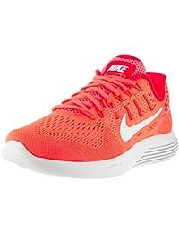 Zapatillas nike Wmns Nike Lunarglide 8rojo/blanco, Bright Mango/Bright Crimson/Peach Cream/White, 7