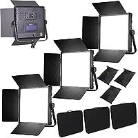 HWAMART ® (3x1024AVL) KIT 3x 1024AVL LED dimmerabili pannello V-Mount
